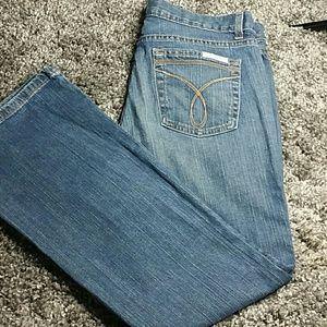 Calvin Klein flare jeans 10 ,L30